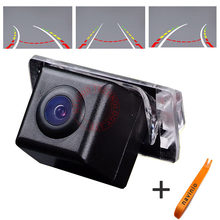 CCD car track camera reversing trajectory For Toyota camry 2008 Car rear view  parking for GPS DVBT radio free shipping NTSC