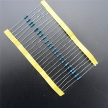 100pcs RoHS Lead Free Metal Film Resistor 1/4W 220 ohm +/- 1% DIY KIT  In Stock DIY KIT PARTS resistor pack resistance
