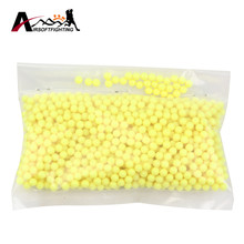 Slingshot 0.12g 6mm Strikeball Strike Ball 1000pcs Tactical Paintball Accessories Hunting Shooting CS Strike Ball Yellow