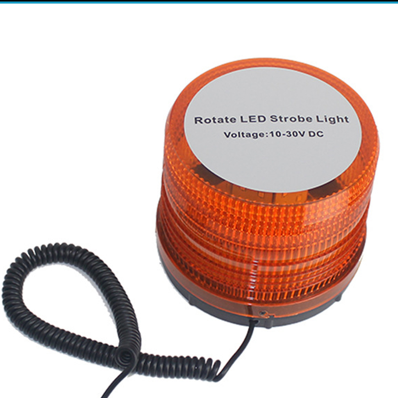 Car Warning light Roof Flashing Strobe Beacon 72 LEDs Blue/Red/Yellow/White Police LED Emergency Flare Vehicle Light bar 12V <br>