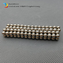 500 pcs NdFeB Magnet Balls 5 mm diameter Strong Neodymium Sphere Permanent Magnets Rare Earth Magnets Grade N42 NiCuNi Plated