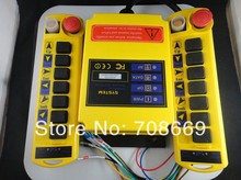 2 Transmitters 8 Channels Hoist Crane Radio Remote Control System(China)