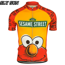 Men cycling Jersey short sleeve funny style cartoon Clothing riding bike Wear classic team Clothing Arbitrary Choice Wear match