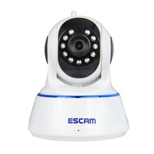 Escam QF002 HD 720P IP Camera Wifi Wireless P2P Infrared H.264 Security Camera PTZ CCTV Mini Dome Camera Pan/Tilt/Zoom Indoor