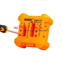 by dhl 100pcs X2 Magnetizer Demagnetizer Tool Magnetic Degaussing Orange Screwdriver Magnetic Pick Up Tool Screwdriver