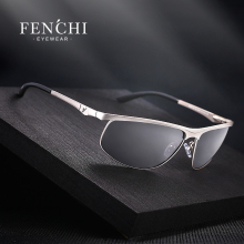 FENCHI 2017 Brand Designer Polarized sunglasses men new fashion glasses driver UV400 hot rays sunglasses Goggles