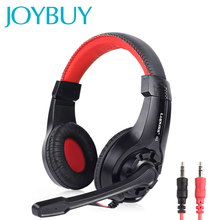 JOYBUY Wired Headphones Stereo Sound Earphone Adjustable Pro Gaming Headset With Mic 3.5mm Audio Cable For Desktop PC Gamer LOL