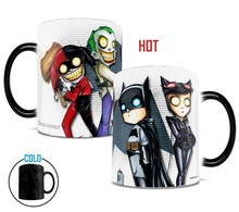 the Dark Knight Joker batman cups and Mugs change color magic mug Color Changing Mugs coffee tea mug best gift for your friends