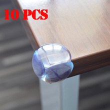Free Shipping 10 Pcs/Lot PVC Clear Edge Baby Safety Corner Protector,In Corners Of Table Cabinet Desk Sharp Corner rubber angle
