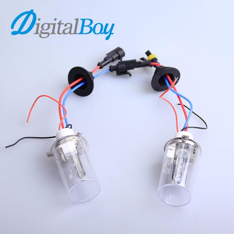 Digitalboy 12V 100W Xenon Bulbs H4-2 Hi/Lo Beam with Halogen Lamp Car Headlight H4/H H4/L Conversion Lamp 5000k 6000k Car Lights<br><br>Aliexpress
