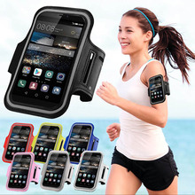 For Huawei Ascend Y600/Y635/620s/P6/P7/P8/P8 Lite/P9/5X Running Sport Gym Armband Bag Case Jogging Arm Band Mobile Phone Cover