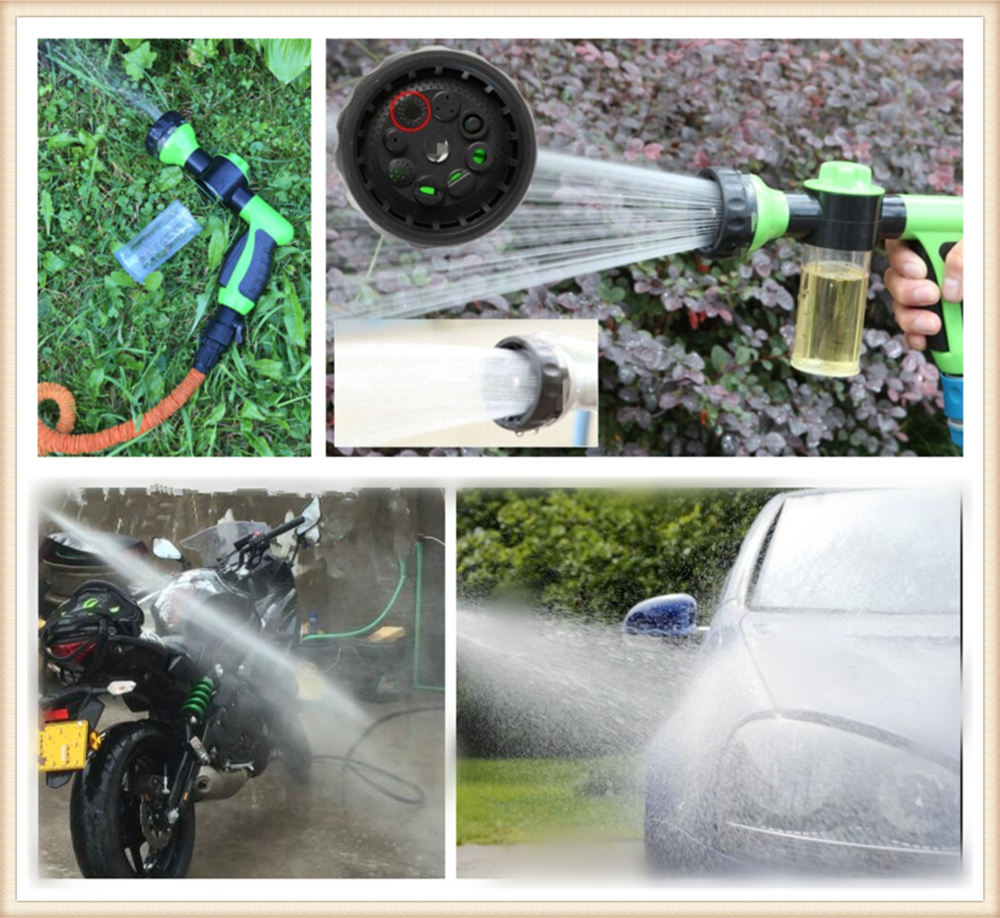Car motorcycle foam water gun high pressure cleaning spray for Mercedes Benz GLC63 GLA45 GLA G650 E63 E-Class A170
