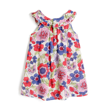 New design Girl Dress Sleeveless flower girl dresses high quality infant girl dresses party SHXA001