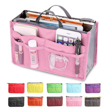 Mini Women Nylon Cosmetic Makeup Bags Organizer Storage Bag Pouch Holder(China)