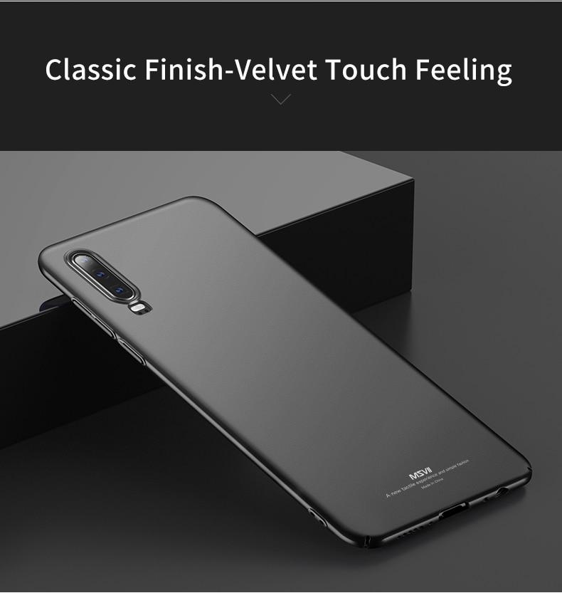 Huawei P30 Case for Huawei P30 Pro Case Hard P30 Lite Cover Slim Matte Back Cover Fingerprint Proof Fundas     (14)