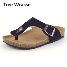 Tree Wrasse Children Beach Sandals 2017 New Summer Baby Boys and Girls Cork Shoes Kids Cool Slipper Clip Toe Sandals