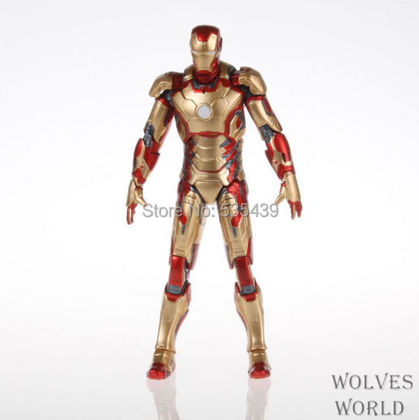 NEW Hot ! Movie Iron Man 3 18cm Evolution version Action Figure Superhero Mark 42 43 avengers movable alliance 18cm Toys<br><br>Aliexpress