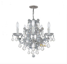 Phube Lighting Maria Theresa K9 Crystal Chandelier Lighting Gold/Chrome Chandelier Light Lighting+Free shipping(China)