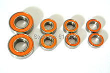 Free Shipping Provide HIGH PRECISION KYOSHO MINI Z (MR01) RUBBER SEAL BEARINGS KITS