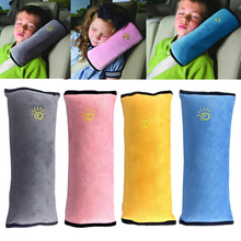 New Car Auto Pillow Vehicle Safety Seat Belt Harness Shoulder Pad Cover Cushion Head Support for Child Kids CSL2017