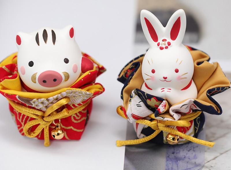 Details about  /3d Rabbit Pig Cat Ceramic Gypsum  Silicone Mold Fortune Plaster Mould Cake Decor