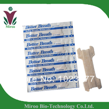 Free shipping CE certificate Medium 55X18mm Breath Better Nasal Strips than Better Right 500pcs/lot