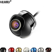 CCD HD night vision car camera front/side/left/right /rear view camera 360 degree Rotation universal car reverse backup camera(China)