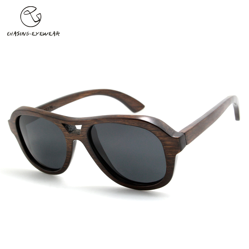Retro trend of the manual sun glasses male professional outdoor polarizing sunglasses ladies manual wood Sunglasses CS10176J<br><br>Aliexpress