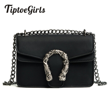 Tiptoegirls Fashion Women Bags New Arrival Women Shoulder Bags Diagonal Lady Handbags Vintage Chain Personalized Small Bag(China)