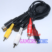 2pcs BRAND NEW For Sega Dreamcast System Console S-Video AV Cord Cable TV Wire(China)