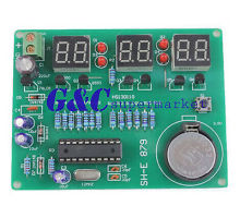 9V-12V AT89C2051 6 Digital LED Electronic Clock Parts Components DIY Kit Module