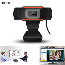 DOITOP 480P 12.0MP Rotatable HD Webcams 640*480 Video Chat Camera PC Web Cam Camera with Mic Microphone For Laptop Skype TV(China)