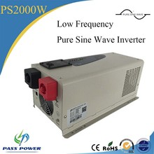 2000w/2kw 12v/24v/48vdc to 110v/220v/230v/240vac charger inverter low frequency 2000 watt low frequency inverter(China)
