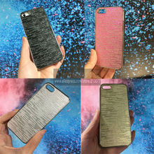 4pcs/Lot Electroplating Processing Luxury Quality Designer Bling Chrome Hard Back Case Cover For iphone 5 5S 5th(China)