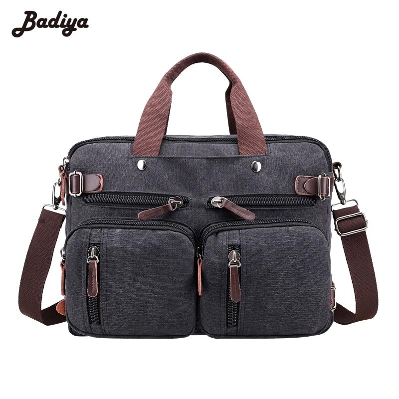 Multifunction High Quality Men Casual Canvas Shoulder Bag Diagonal Package Mens Crossbody Messenger Bags Handbag<br>