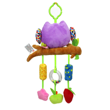 Toy Musical Mobile For Baby Bed Wind Bell 0-12 Months Plush Soft Elephant Miniature Dolls Mobil On The Cot Toddler Toys 703243
