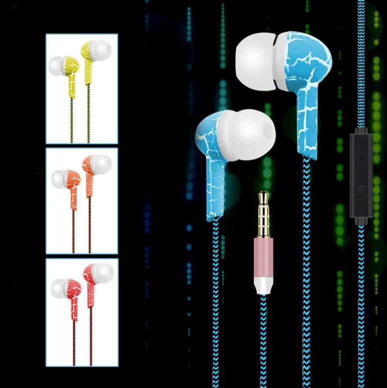 Super Cool New Arrival 3.5mm Wired In Ear Heavy Bass Earbuds Headset Crack Earphone Headphone with Mic Professional HOT Gifts<br><br>Aliexpress