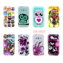 Exclusive Design Lovely Polka Dots Phone Case for Samsung Galaxy Ace 4 Lite Neo Duos SM-G313H Trend 2 G318 SM-G318H Cover G313HN(China)