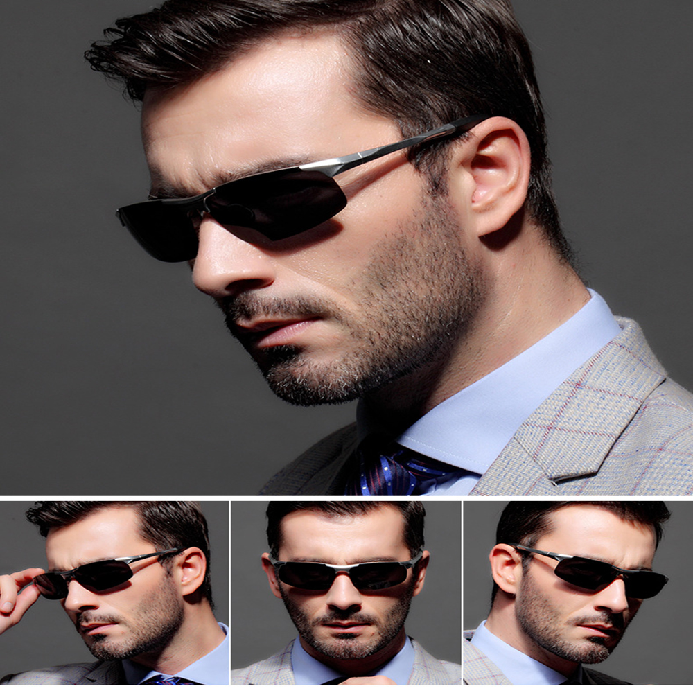 Polarized UV400 Driving Sunglasses For Men Square2016 For Travel Driving Or Outdoor Sun Glasses Aluminm Magnesium fsk8177 oculos<br><br>Aliexpress