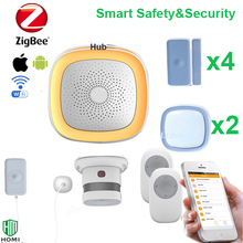 Latest security technology Zigbee protocol alarm detecting home movement environmental alert system(China)