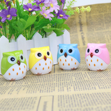 1 Pcs Kawaii Owl Pencil Sharpener Cutter Knife Child Student Stationery Promotional Gift Stationery