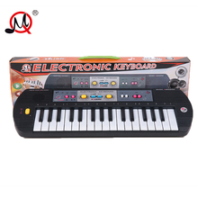 32 keys children's musical instruments keyboard with toys microphone battery early educational music toys for girls boys gift