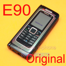 Original nokia e90 mobile qua-band de telefone celular gsm 3g gps wifi bluetooth refurbished