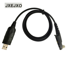 JXEJXO USB Programming Cable of Walkie Talkie for Motorola Radio for GP328Plus GP338Plus GP644 GP688 GP344 GP388 EX500 EX560 XL