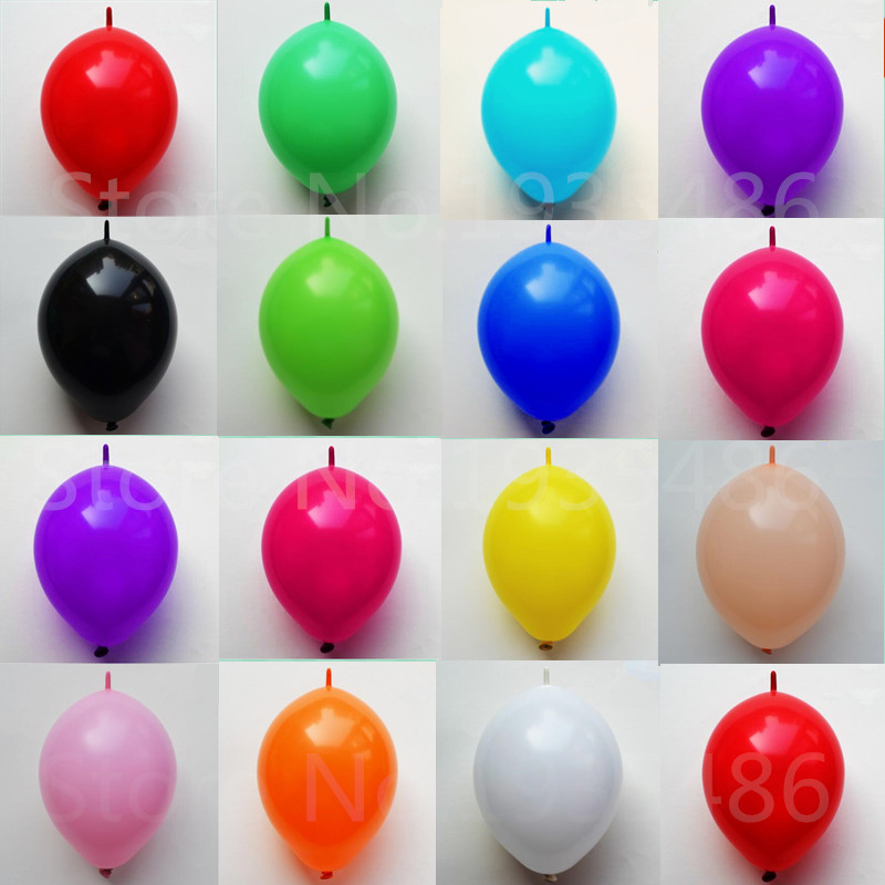 6 inch balloons [ 100 Piece Lot ] 1