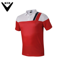 2017 new Men's Golf T-shirts summer short-sleeve Breathable Quick Dry Golf sport POLO shirt men's Short Sleeve Top 5 colors