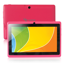 Yuntab Q88 Android 4.4 Tablet PC Allwinner A33 Quad Core 512MB/ 8GB Dual Camera, External 3G ,3D-Game Supported (Pink)(China)