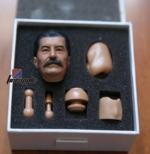 "1/6 scale figure head shape for 12"" Action figure doll WWII Soviet leader Stalin head for figure, not include body and clothes(China)"