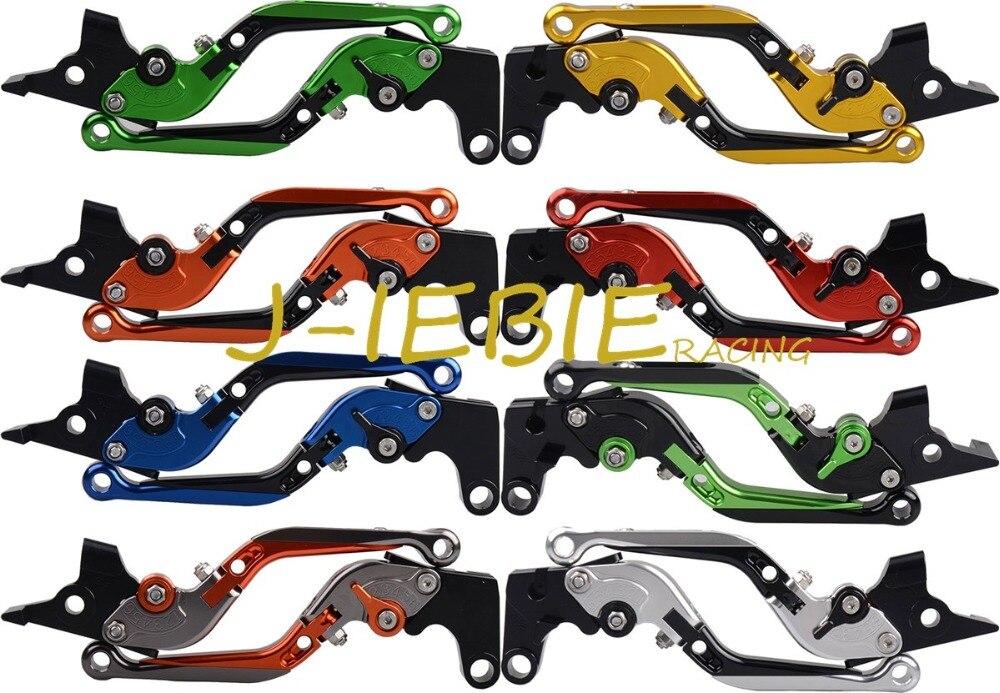 For Honda CB600F Hornet 2007-2014 CBR600F 2011-2014 Folding Extendable CNC Adjustable Brake Clutch Levers<br>