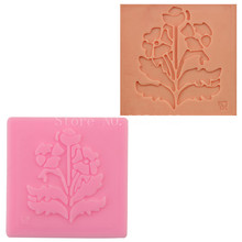 Craft wind Flower & Leaf Lace Silicone Fondant Soap 3D Cake Mold Cupcake Jelly Candy Chocolate Decoration Baking Tool FQ2160